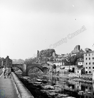 Barnard Castle, River Tees, Bridge and Castle
